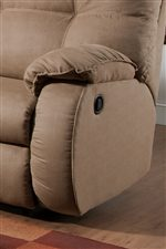 Fully-Cushioned Pillow Top Arm Rests