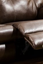Fully Cushioned Chaise-Pad Recliner Ottomans