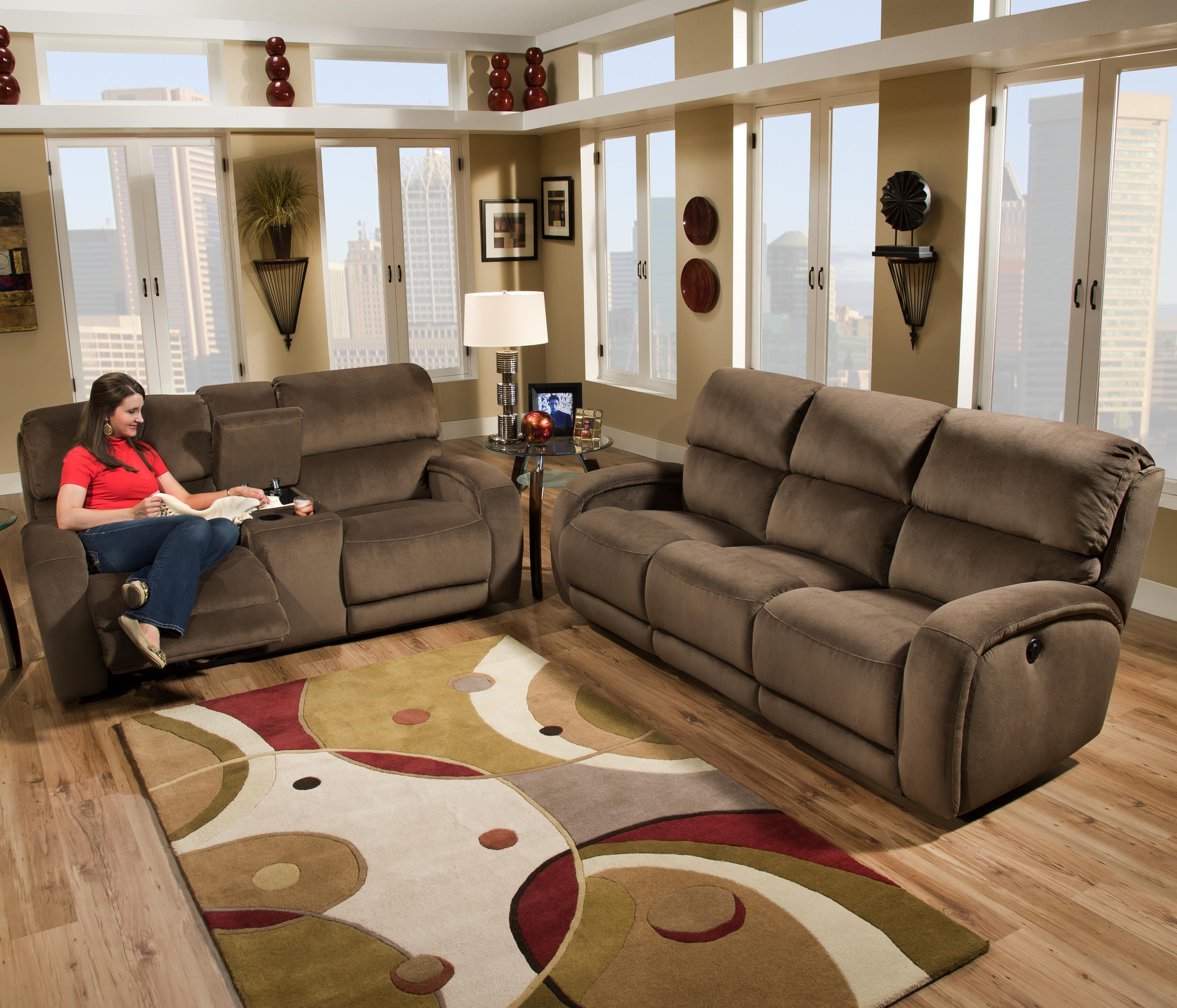 Southern Motion Fandango 884 Power Reclining Sofa with Casual
