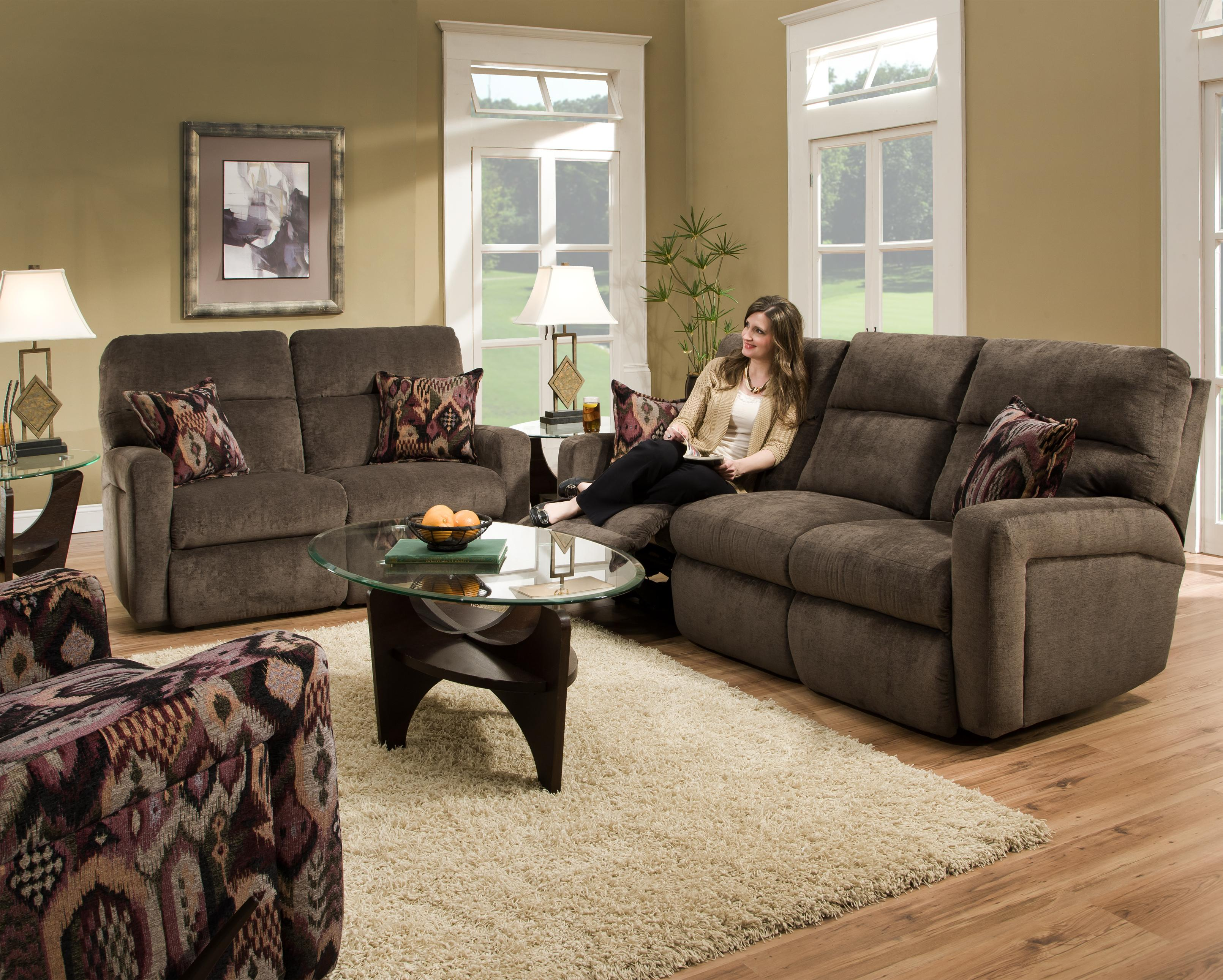 Beautiful Fabric Reclining sofa New – Tatsuyoru