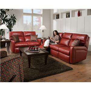 Belfort Motion Parker Casual and Contemporary Wall Hugger Recliner