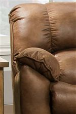 Plush Pillow Arms with Welt Cord Trim