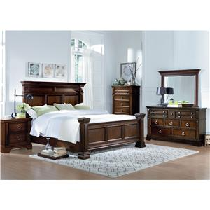 Standard Furniture Charleston Cal King Bedroom Group
