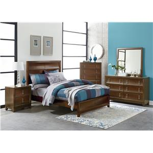 Standard Furniture Amanoi Queen Bed With Curved Panels