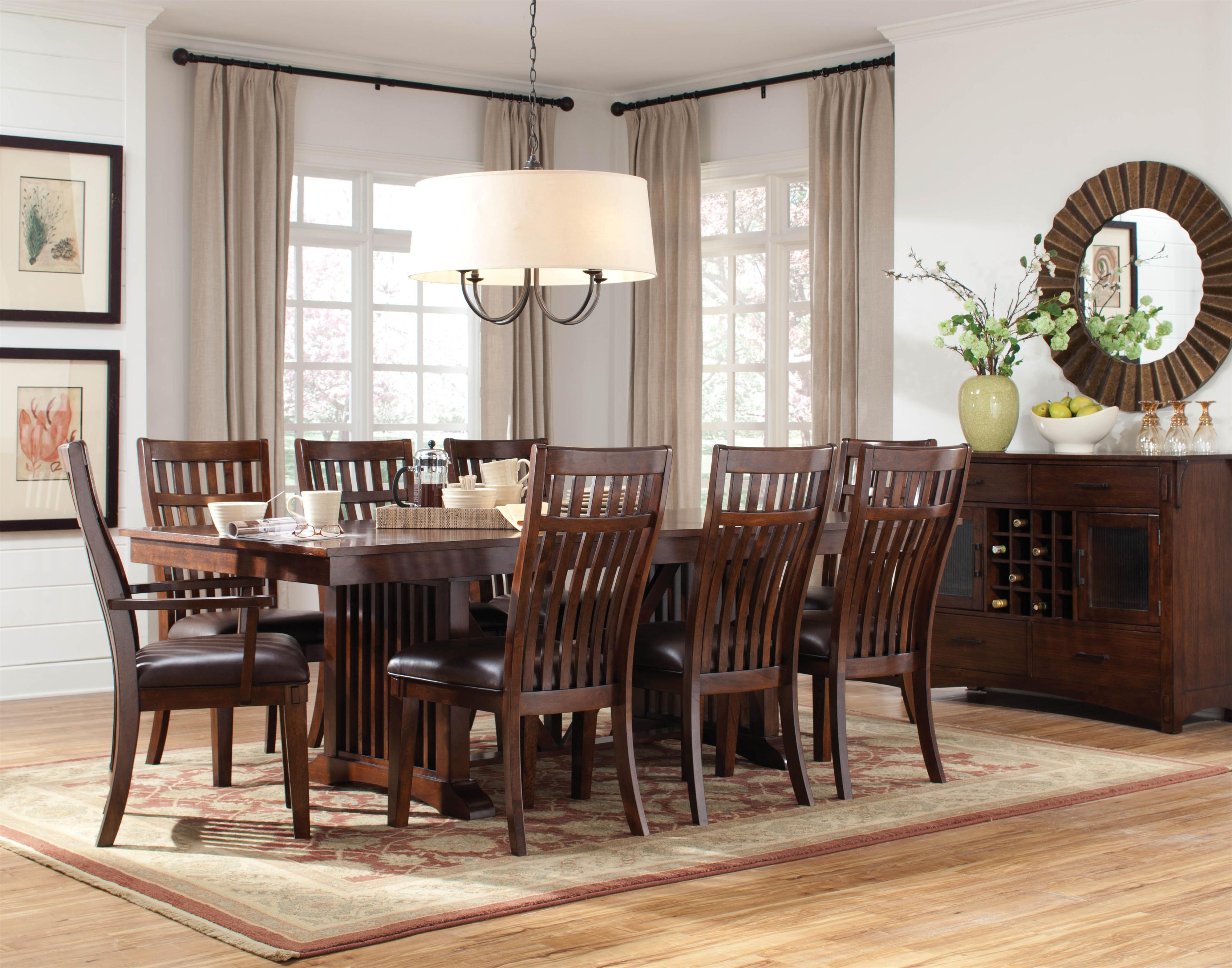 Standard Furniture Artisan Loft Dining Room Group 1 - Item Number: Dining Room Group 1