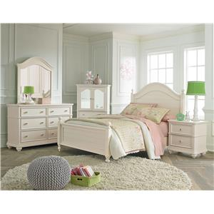 Standard Furniture Camellia Marshmallow Full Bedroom Group