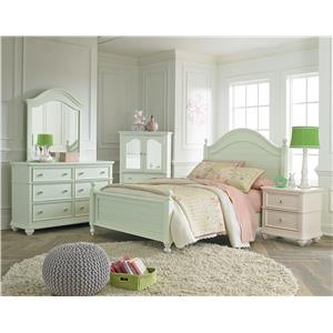 Standard Furniture Camellia Mint Full Bedroom Group