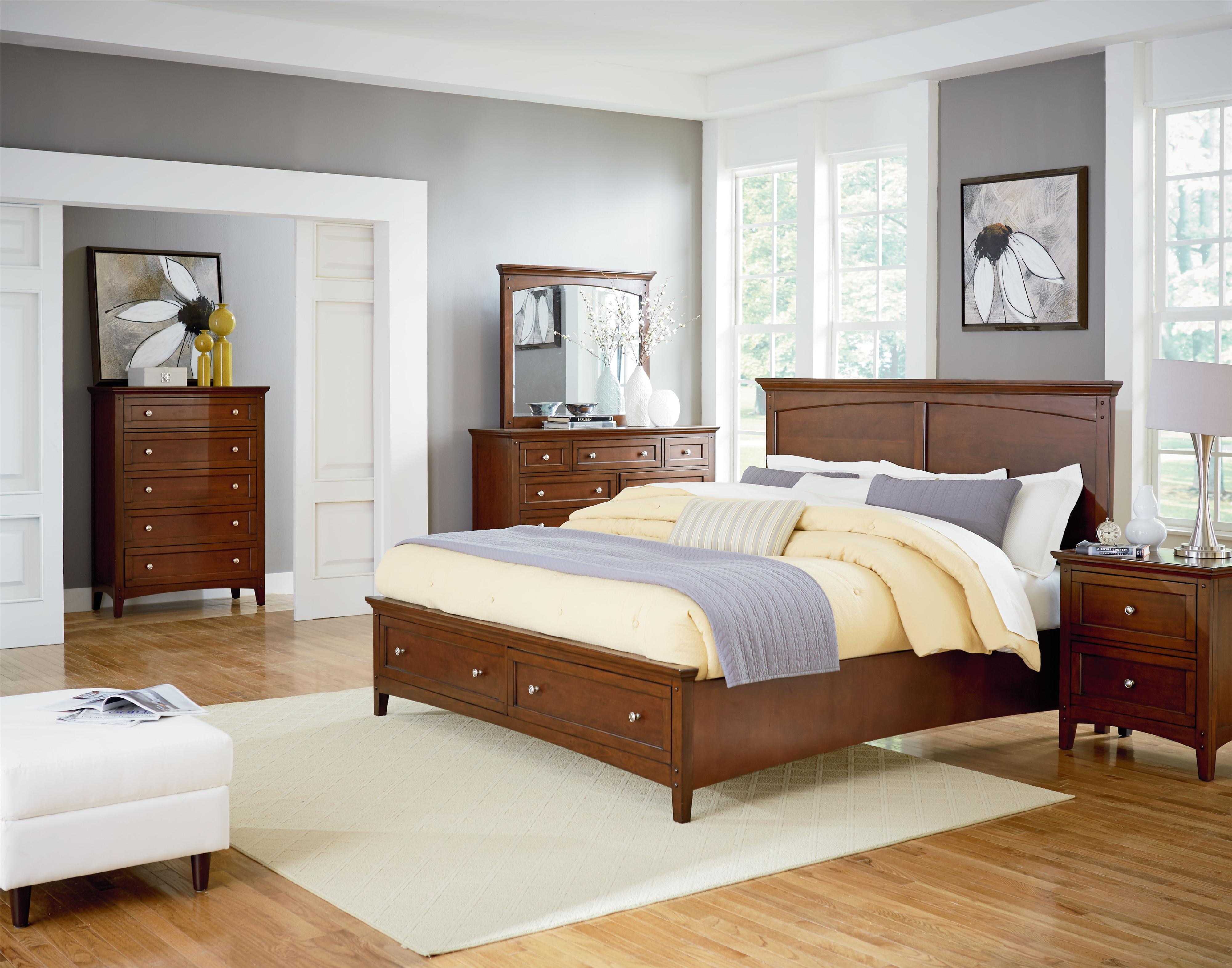 Standard Furniture Cooperstown Queen Bedroom Group - Item Number: 93800 Q Bedroom Group 1