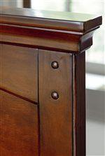 Rustic Peg Details and Crown Mouldings