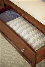 Optional Storage Bed