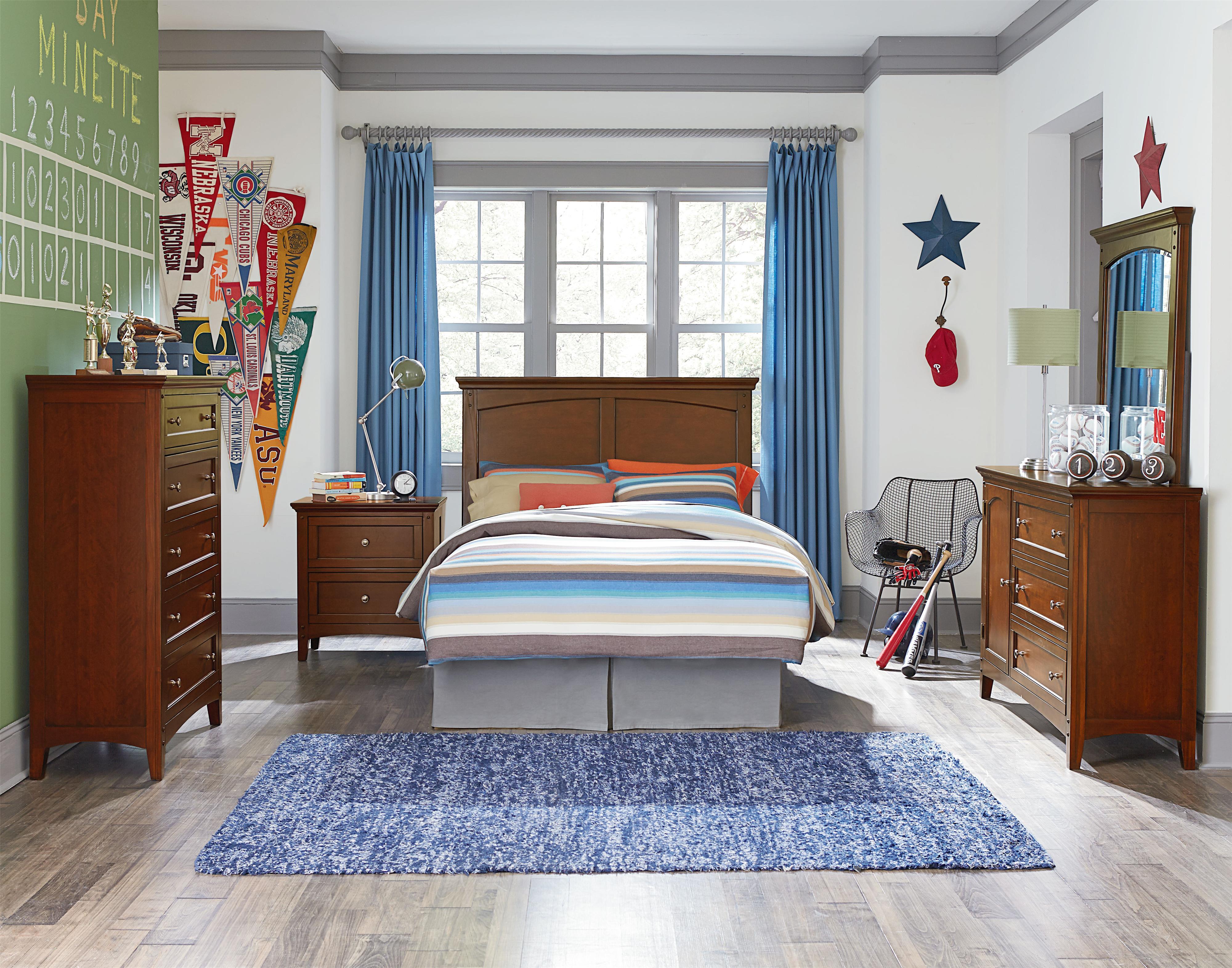 Standard Furniture Cooperstown Twin Bedroom Group - Item Number: 93800 T Bedroom Group 5