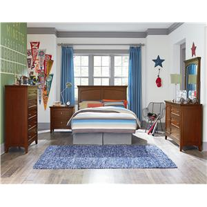 Standard Furniture Cooperstown Casual Full Panel Bed