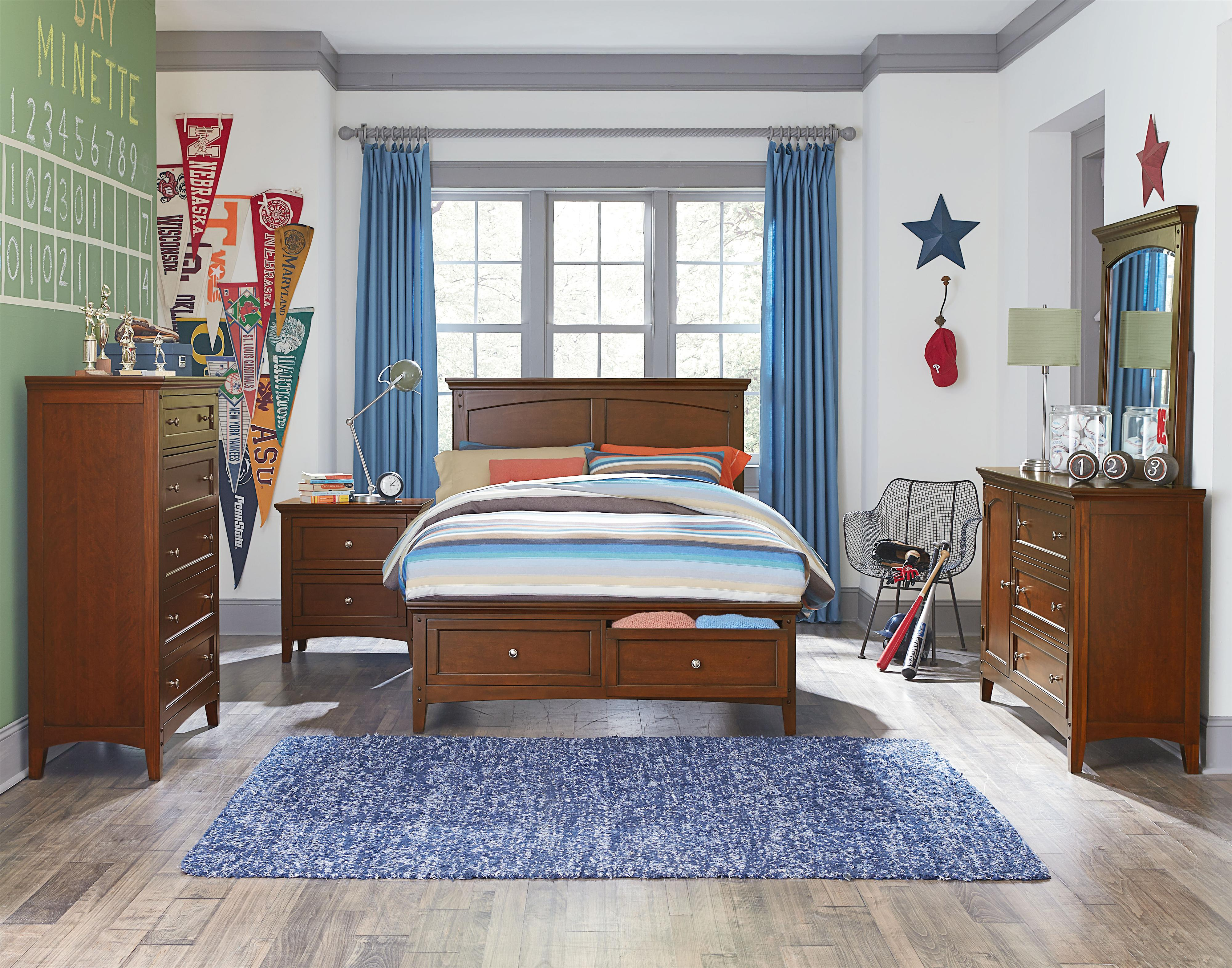 Standard Furniture Cooperstown Full Bedroom Group - Item Number: 93800 F Bedroom Group 3