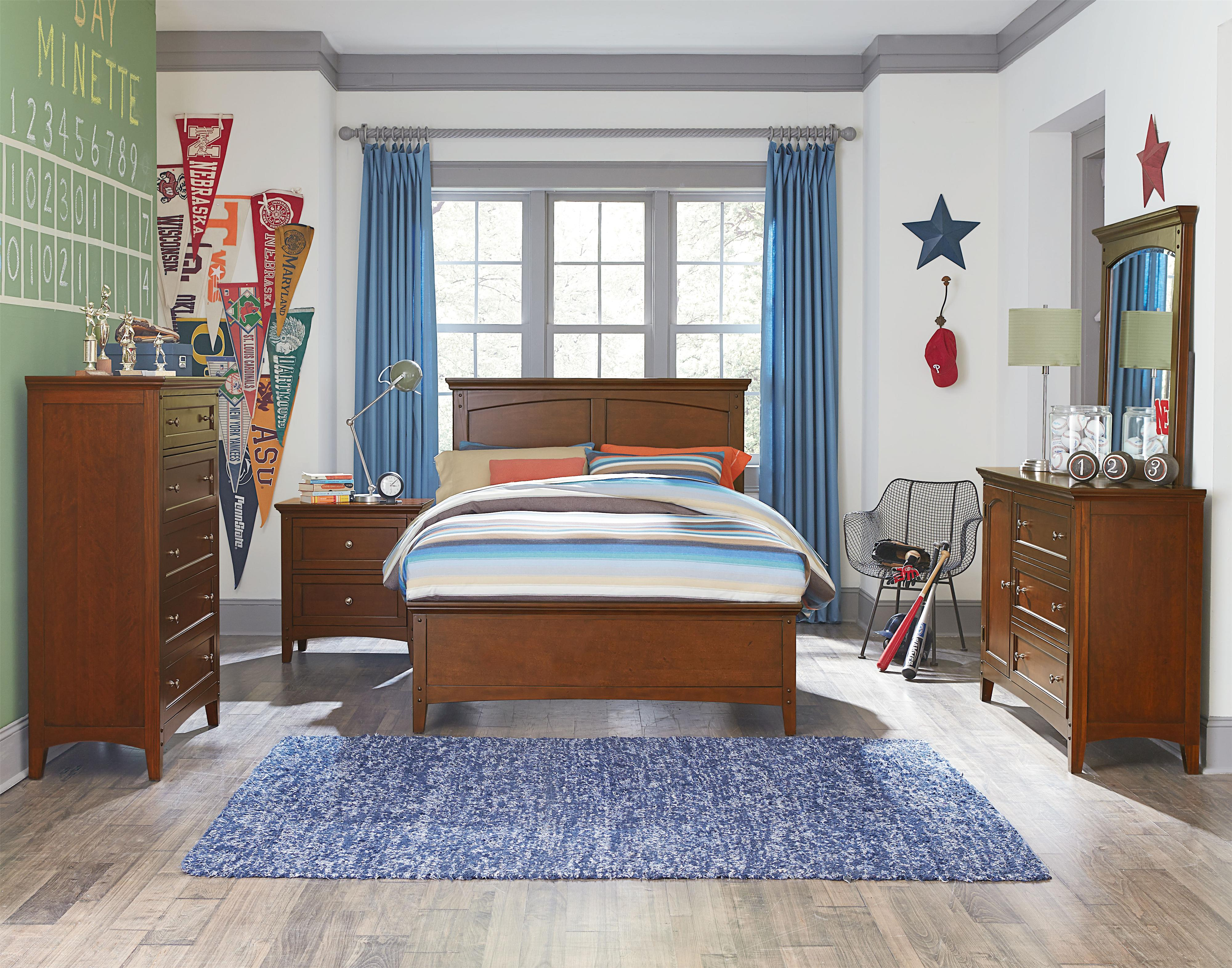 Standard Furniture Cooperstown Twin Bedroom Group - Item Number: 93800 T Bedroom Group 4
