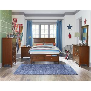 Standard Furniture Cooperstown Casual King Panel Bed