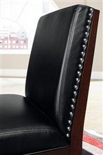 Nail Head Trim on Chairs