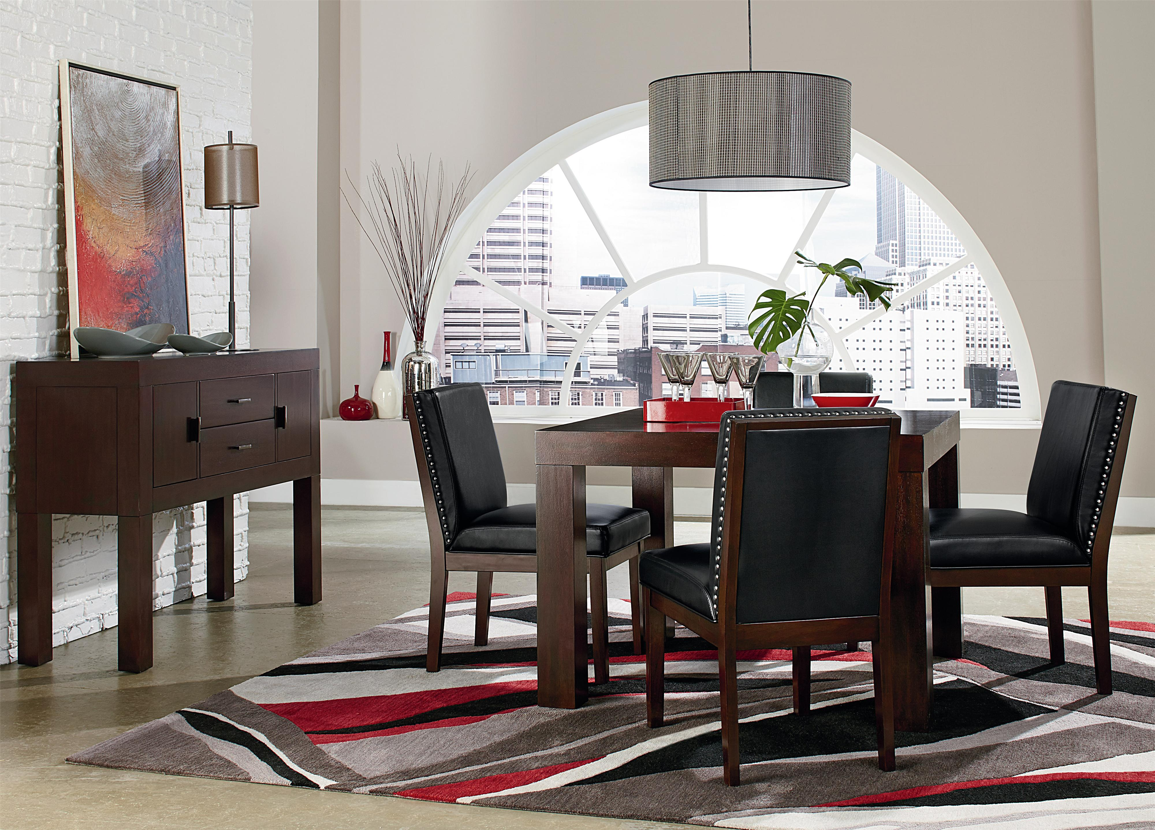 Standard Furniture Couture Elegance Dining Room Group - Item Number: 10560 Dining Room Group 6