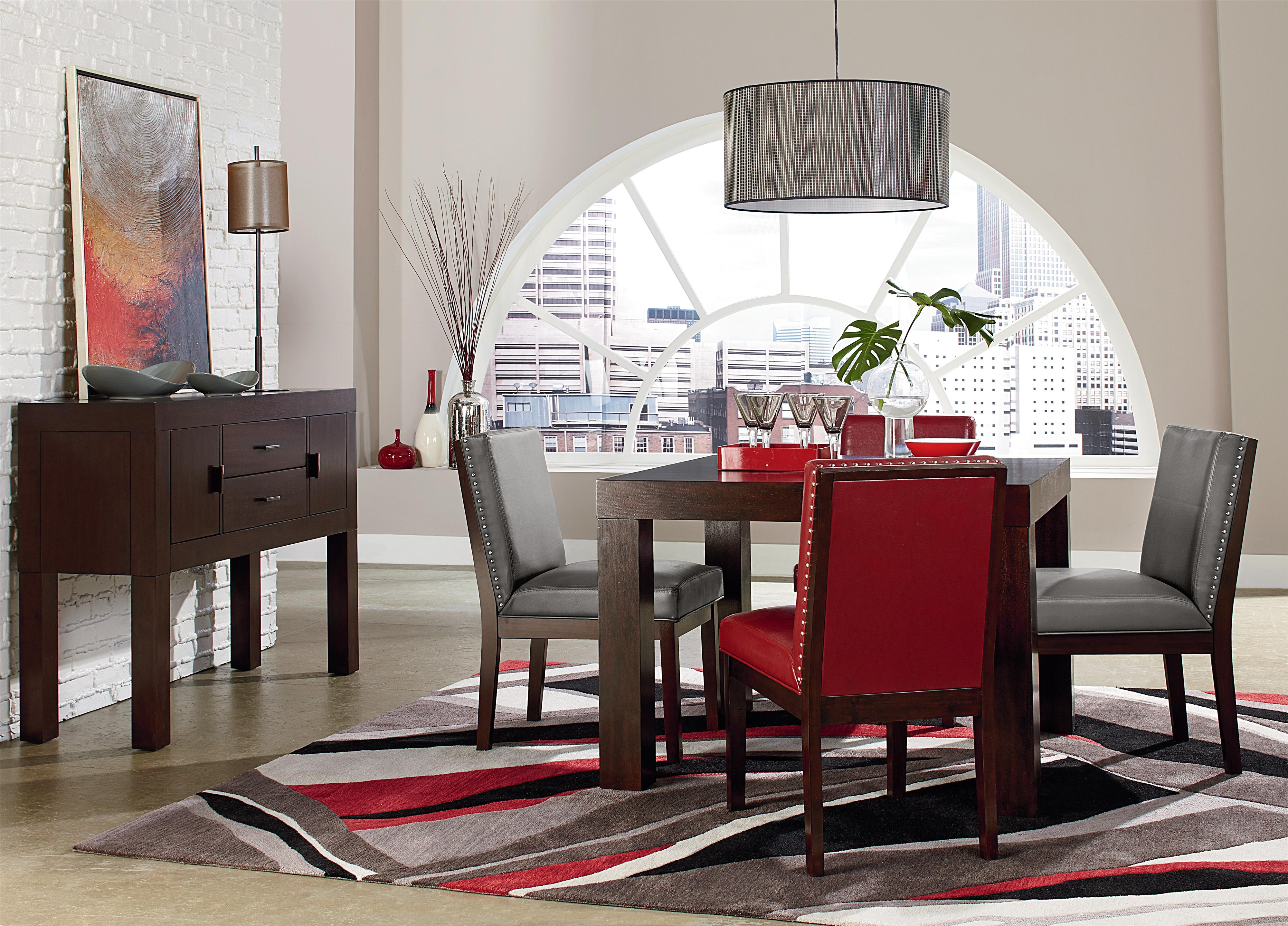 Standard Furniture Couture Elegance Dining Room Group - Item Number: 10560 Dining Room Group 4