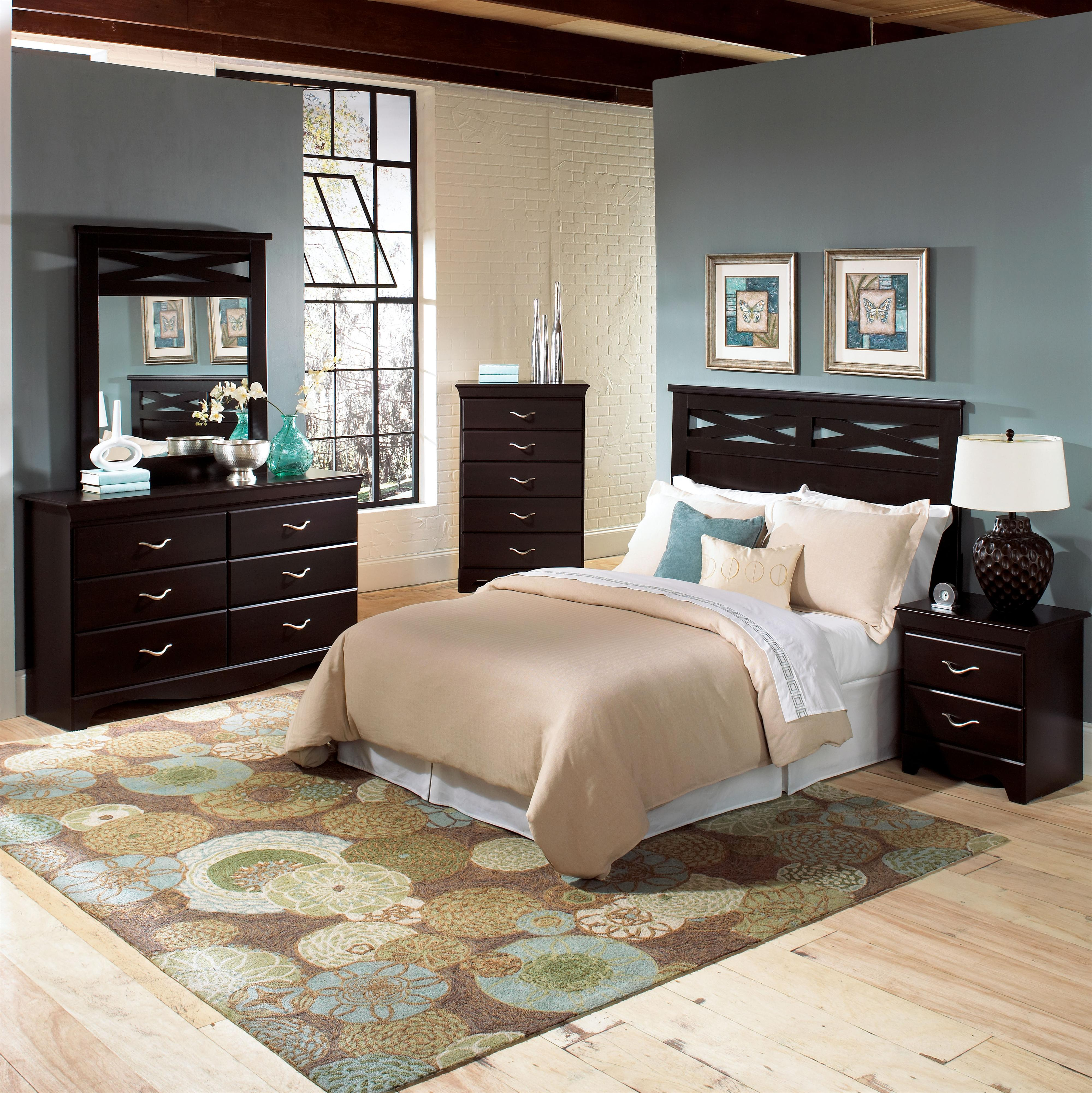 Standard Furniture Crossroads  Full Queen Bedroom Group - Item Number: 57650 F Q Bedroom Group 1