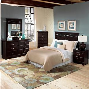 Standard Furniture Crossroads  Full Queen Bedroom Group
