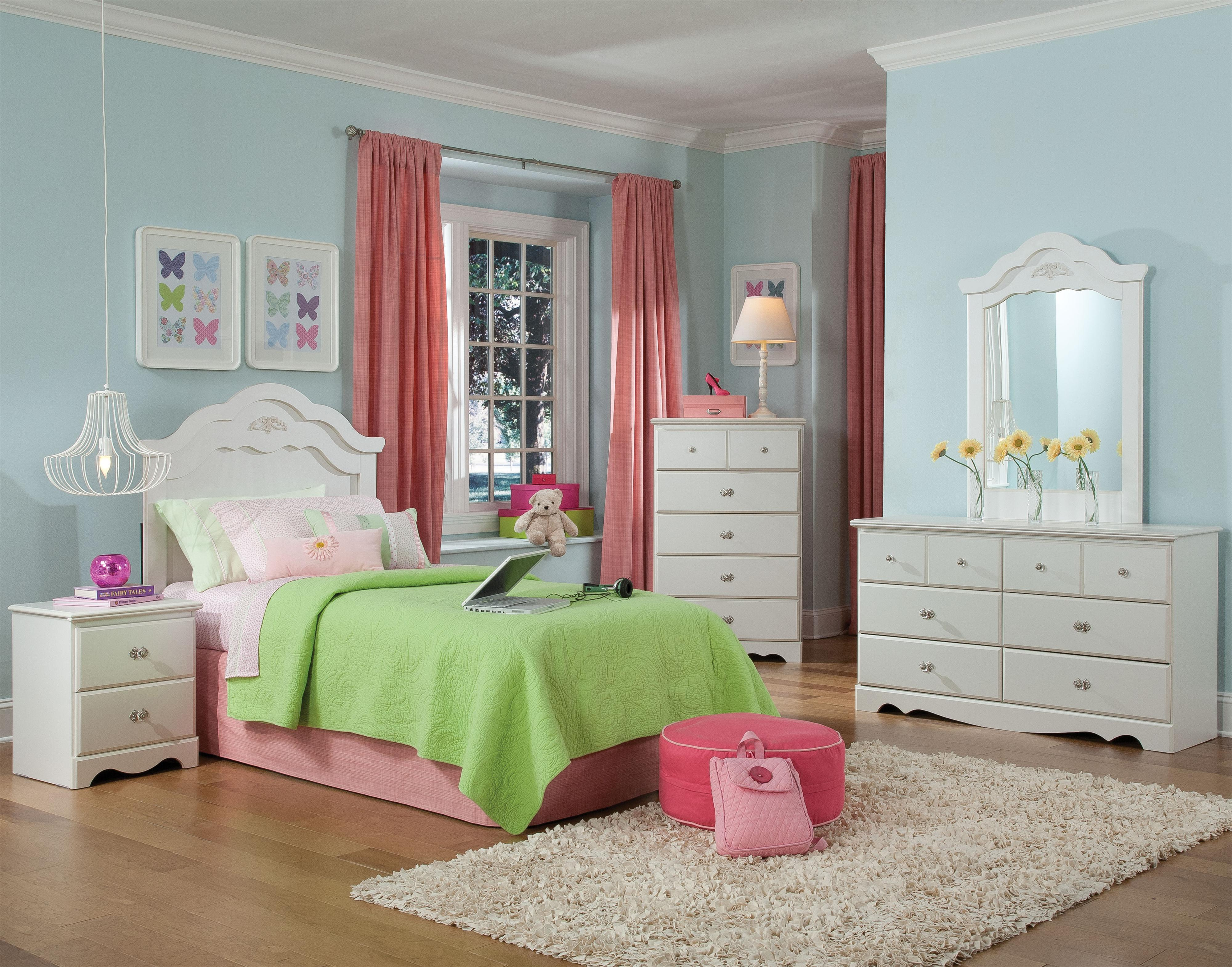 Standard Furniture Daphne Twin Bedroom Group - Item Number: 65550 T Bedroom Group 1