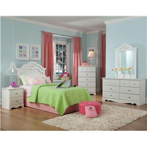 Standard Furniture Daphne Twin Bedroom Group