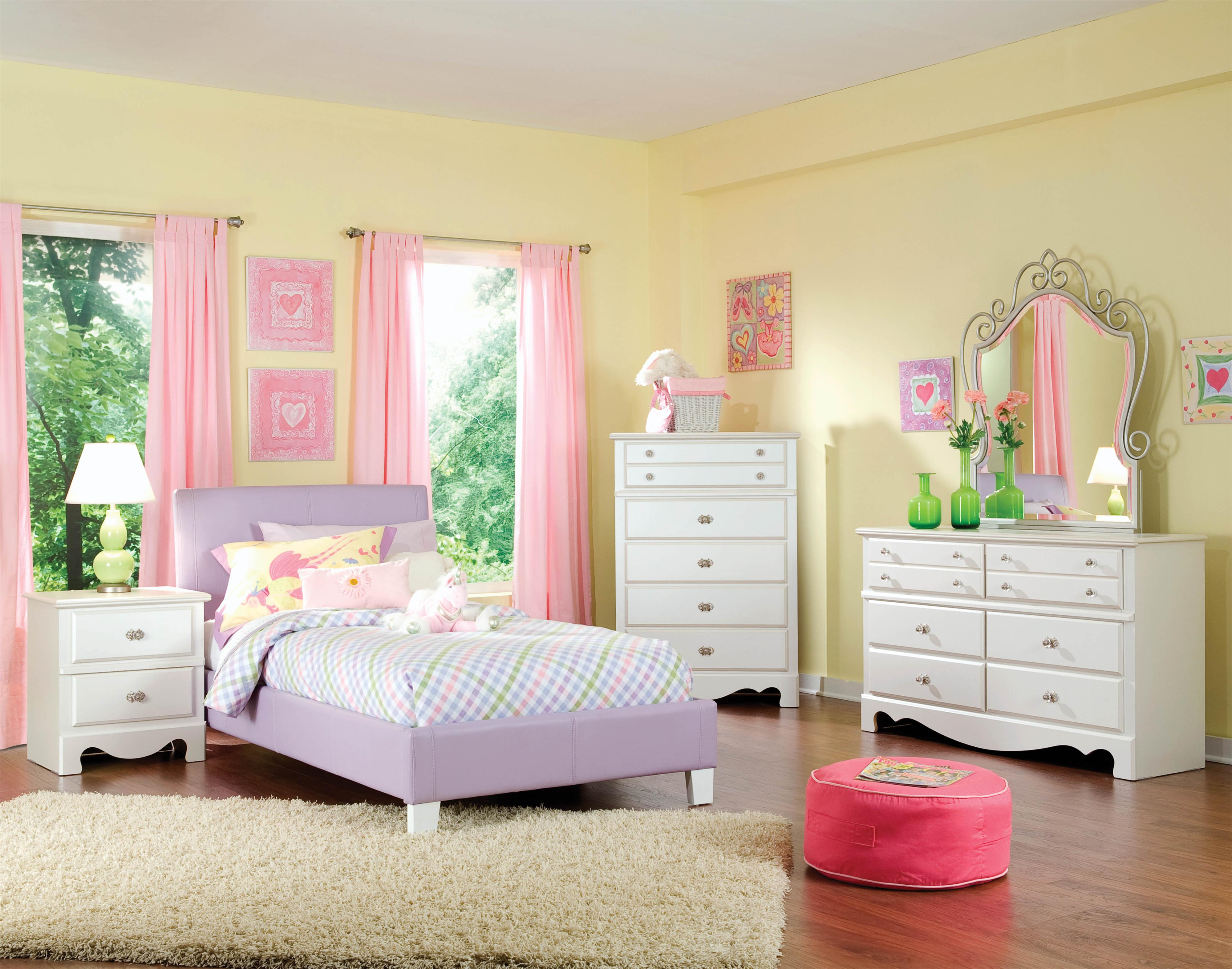 Standard Furniture Fantasia Full Bedroom Group - Item Number: 60750 F Bedroom Group 2