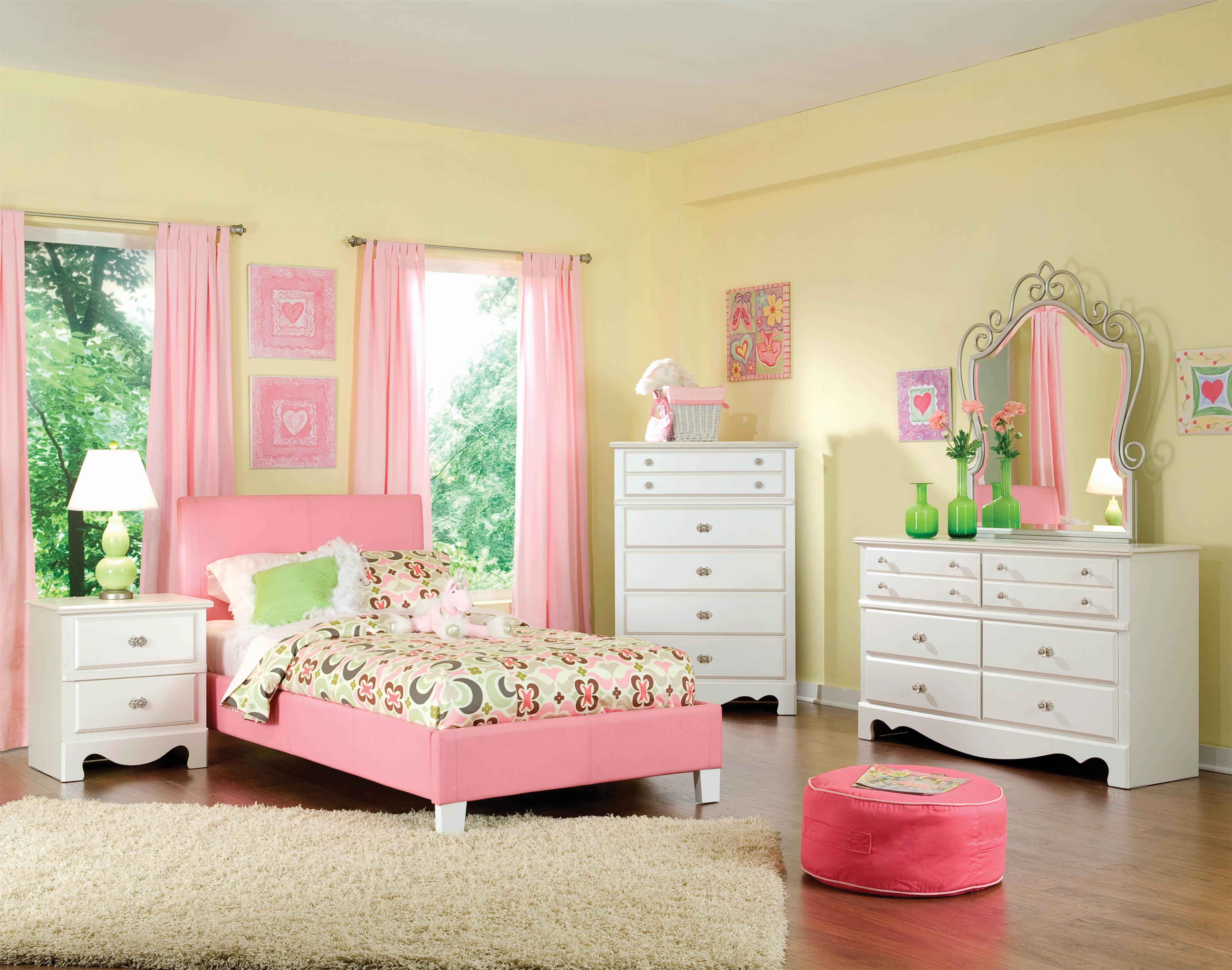 Standard Furniture Fantasia Full Bedroom Group - Item Number: 60750 F Bedroom Group 3
