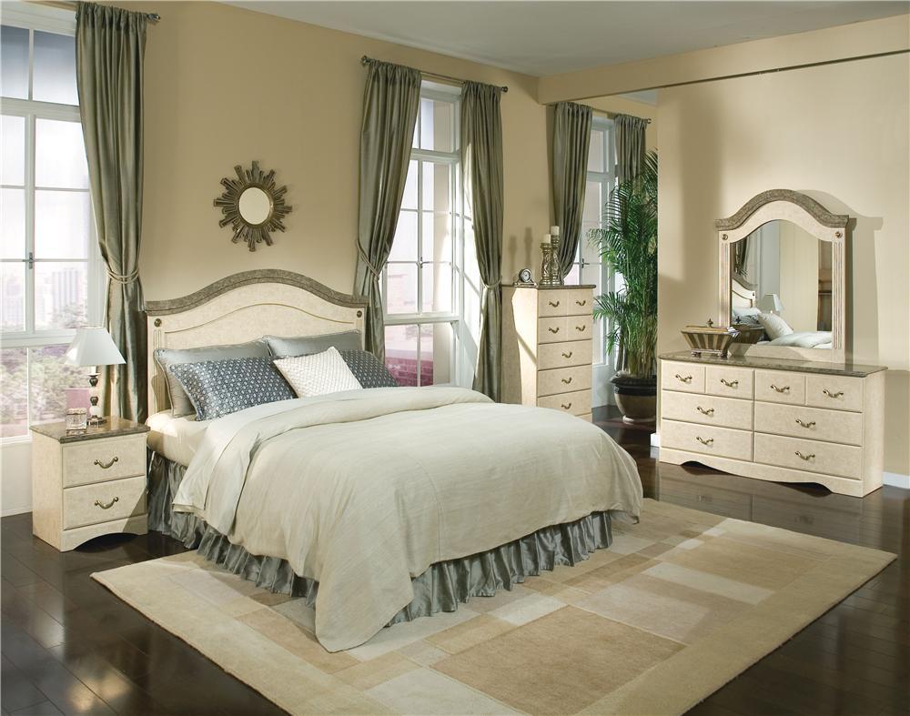 Standard Furniture Florence 5950 Queen Bedroom Group - Item Number: 5950 Q Bedroom Group 1