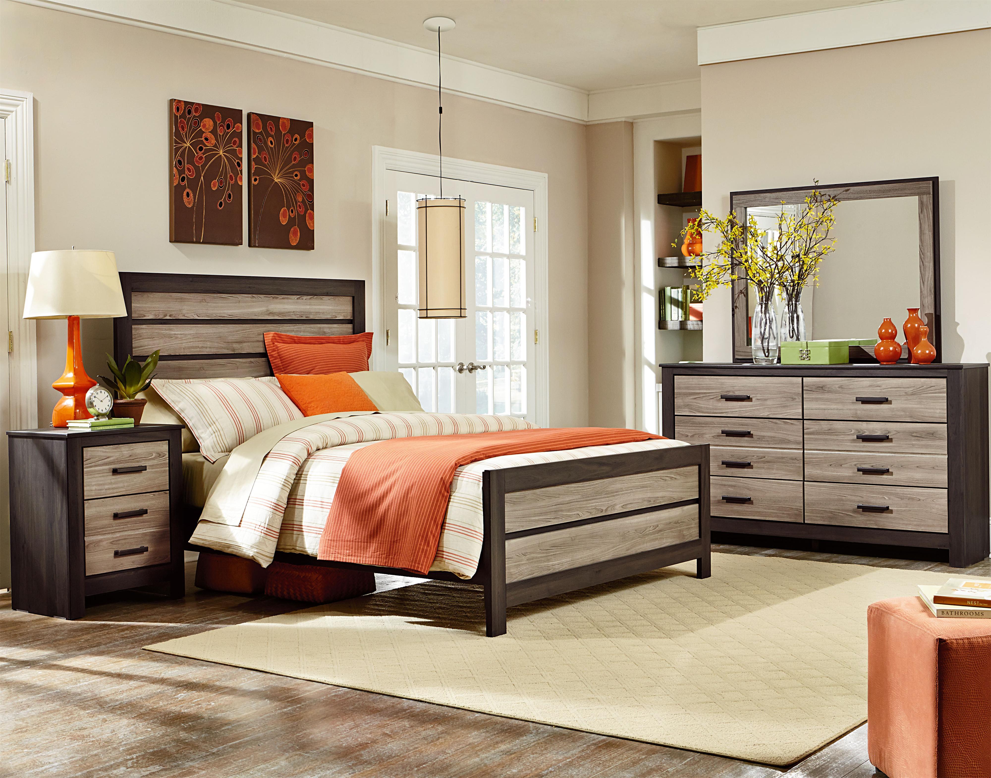 Standard Furniture Freemont Queen Bedroom Group - Item Number: 69750 Q Bedroom Group 1