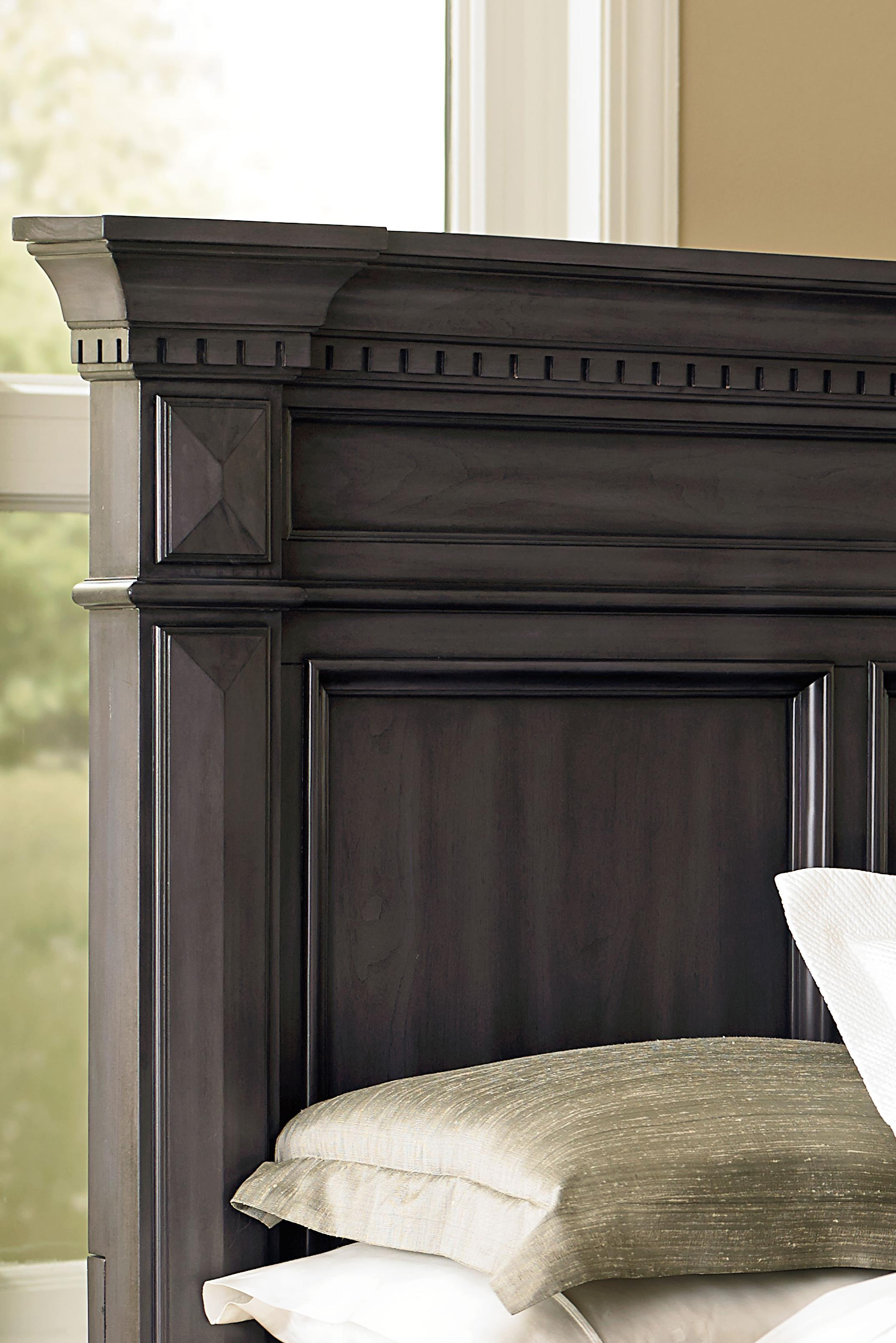 Beautiful Standard Furniture Garrison Traditional Nightstand With Grey Finish    Wayside Furniture   Night Stands
