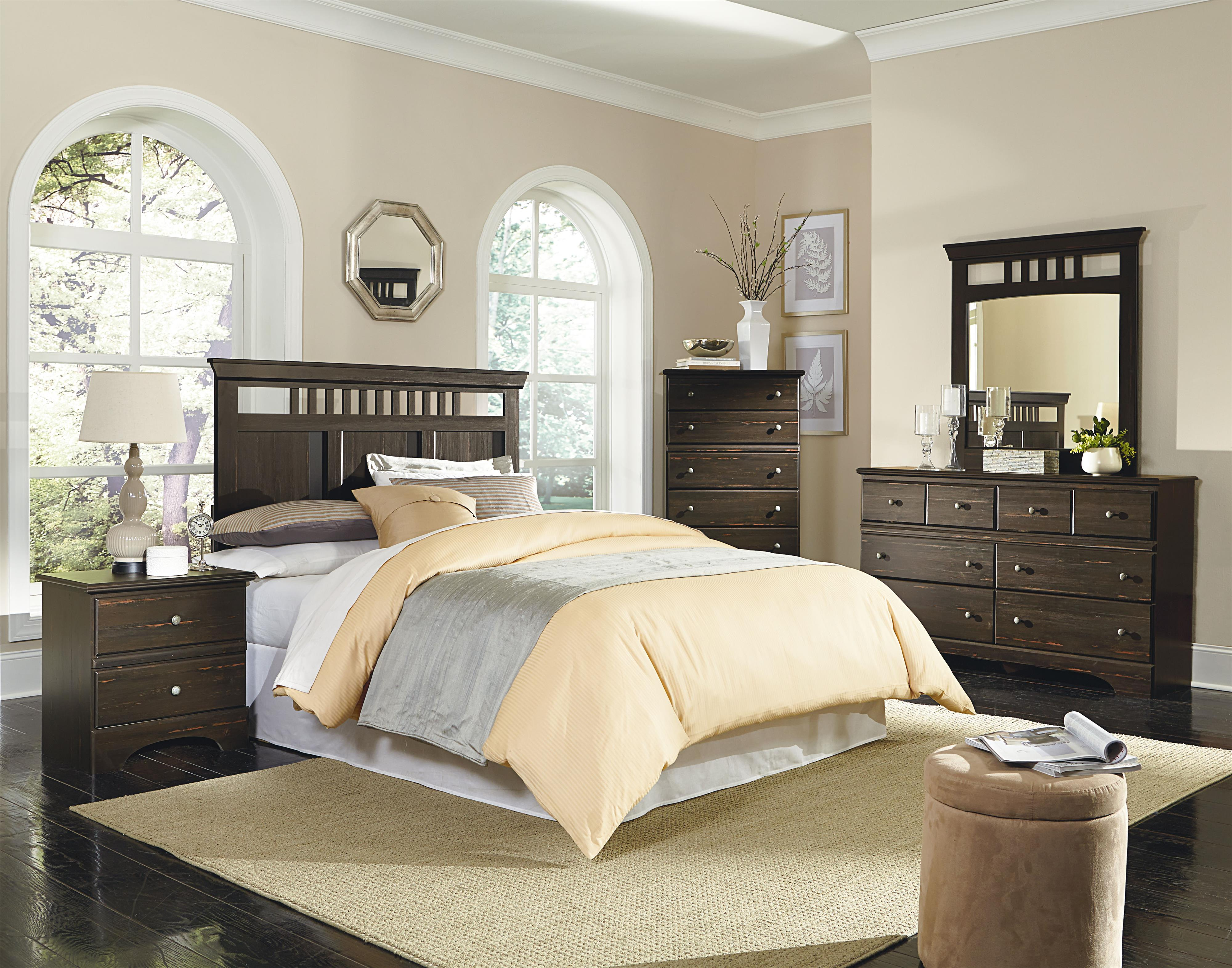 Standard Furniture Hampton King/California King Bedroom Group - Item Number: 52050 KCK Bedroom Group 1