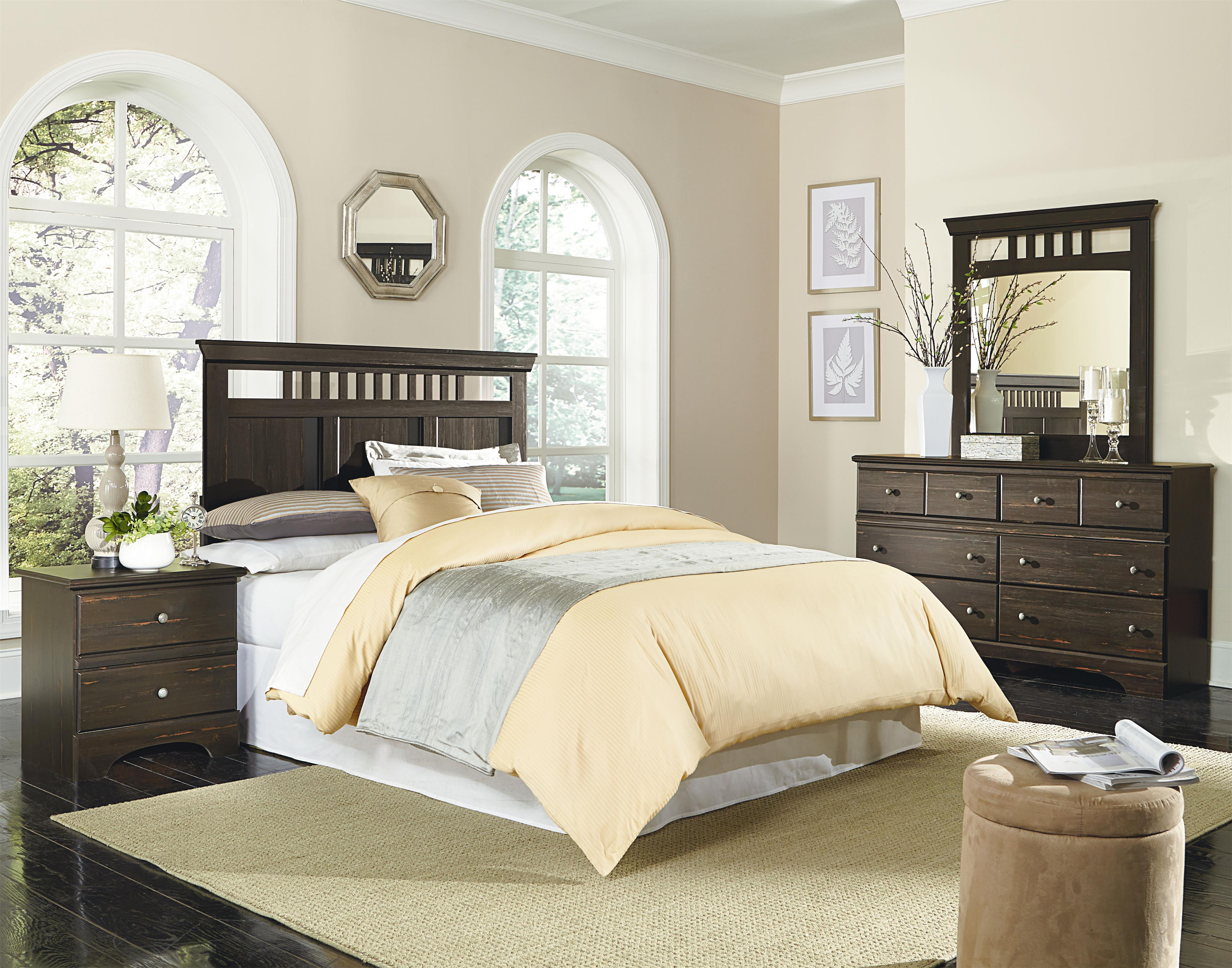 Standard Furniture Hampton Twin Bedroom Group - Item Number: 52050 T Bedroom Group 2