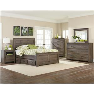 Standard Furniture Hayward King Mansion Bed with Thick Panels
