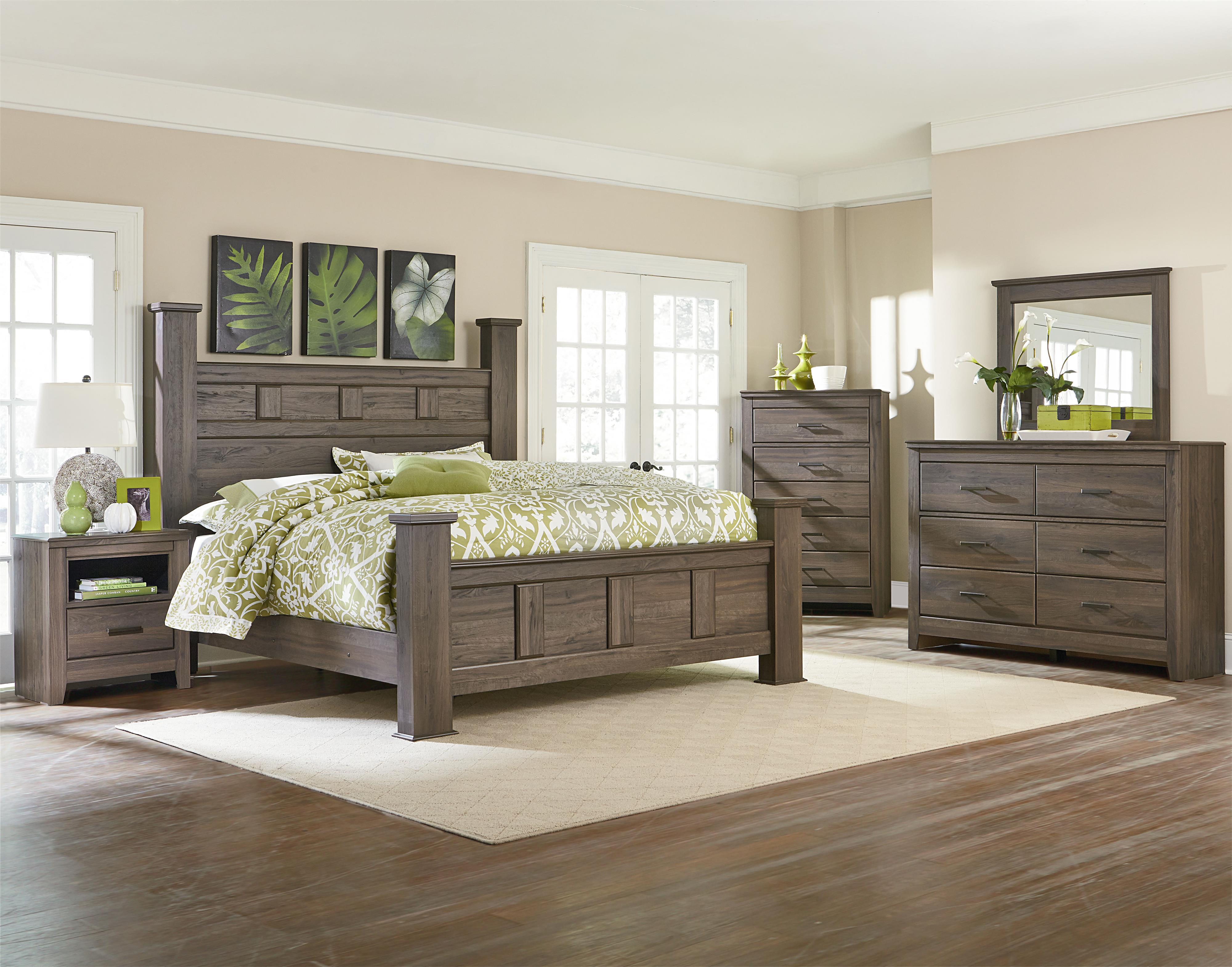 Standard Furniture Hayward Queen Panel Bed With Raised Panels | Wayside  Furniture | Platform Or Low Profile Bed