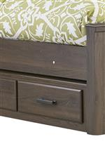 Underbed Storage on Select Beds