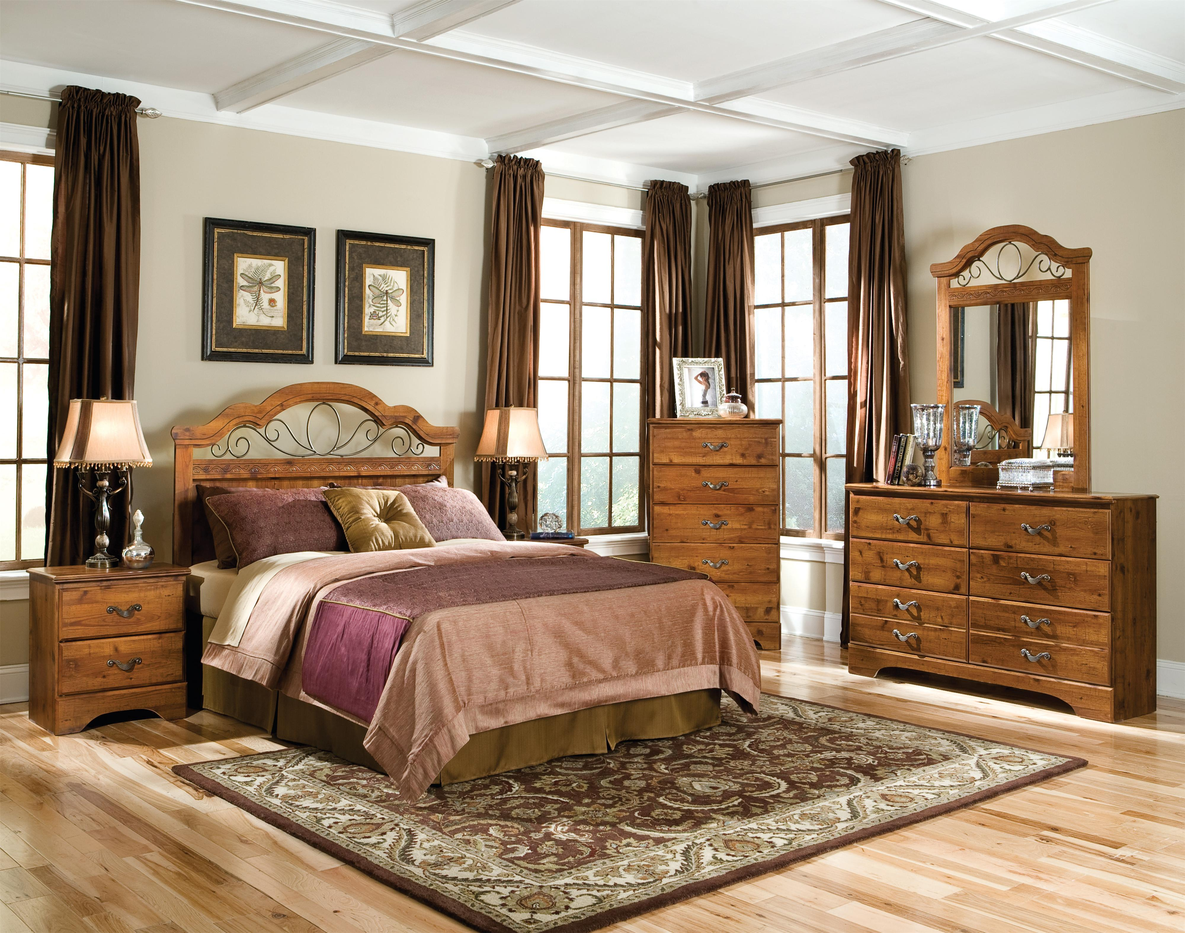 Standard Furniture Hester Heights Full/Queen Bedroom Group - Item Number: 61100 F Q Bedroom Group 1