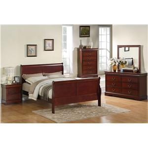 Standard Furniture Lewiston Full Bedroom Group
