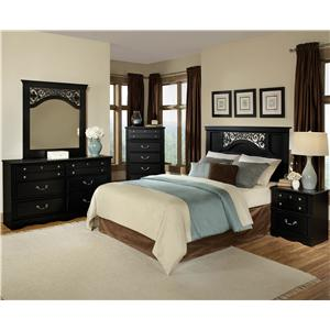Standard Furniture Madera Full/Queen Bedroom Group