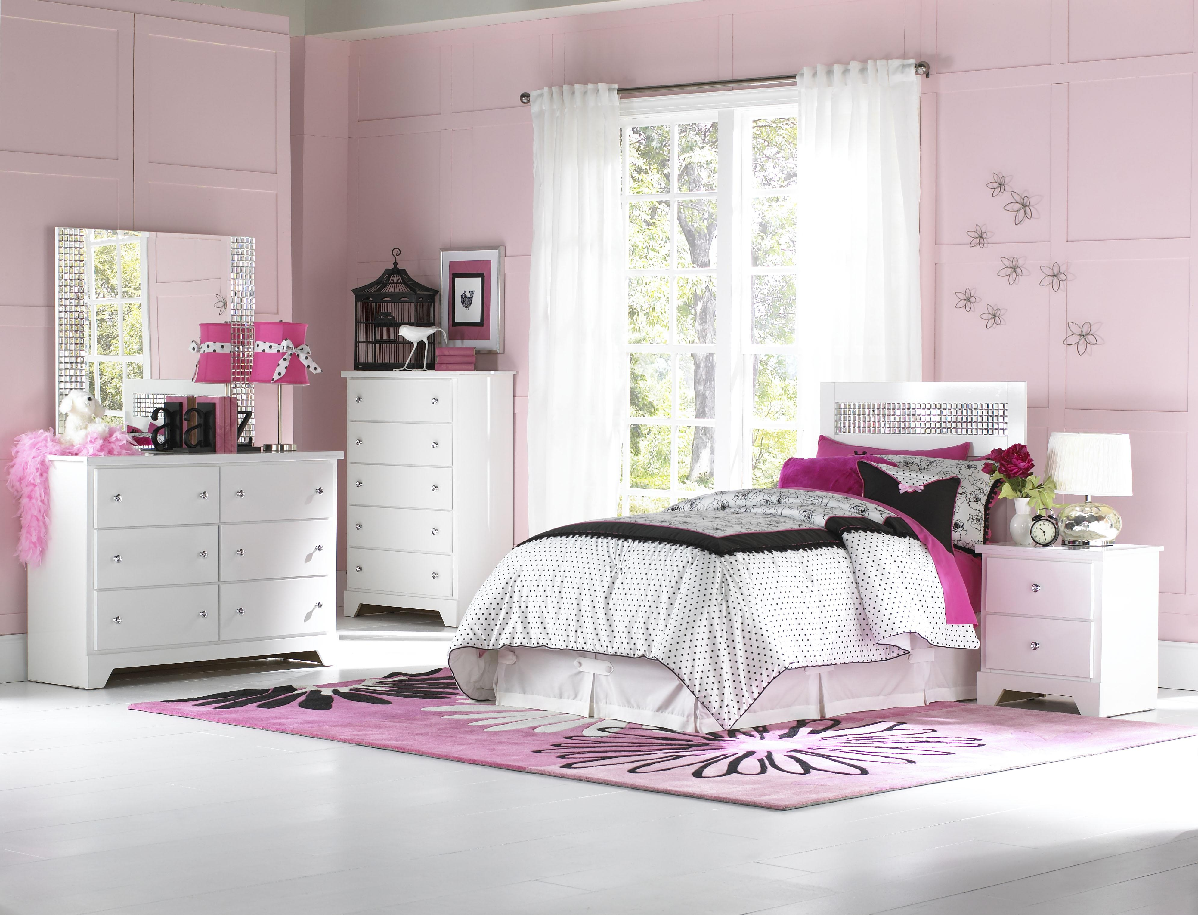 Standard Furniture Marilyn Youth Twin Bedroom Group - Item Number: 66300 T Bedroom Group 1