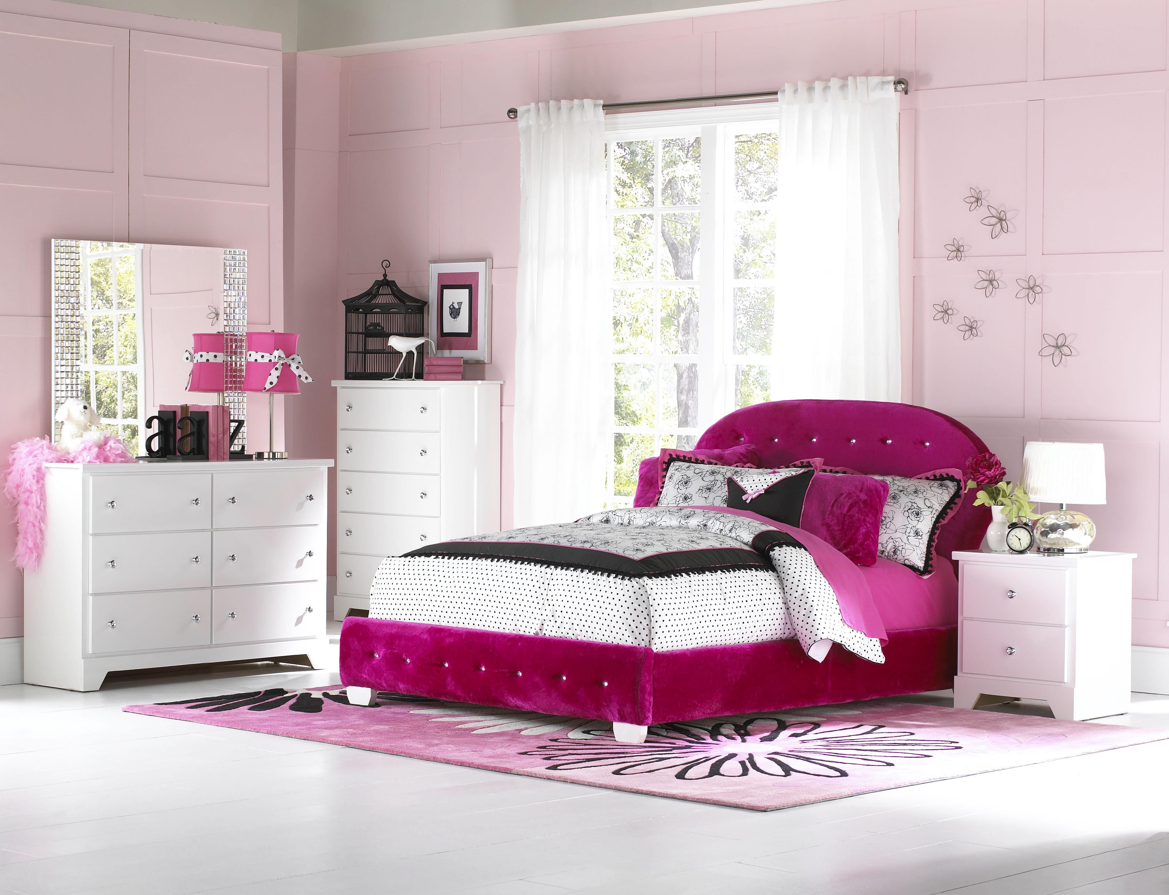 Standard Furniture Marilyn Youth Twin Bedroom Group - Item Number: 66300 T Bedroom Group 2