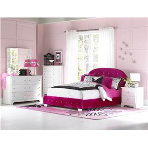 Standard Furniture Marilyn Twin Bedroom Group