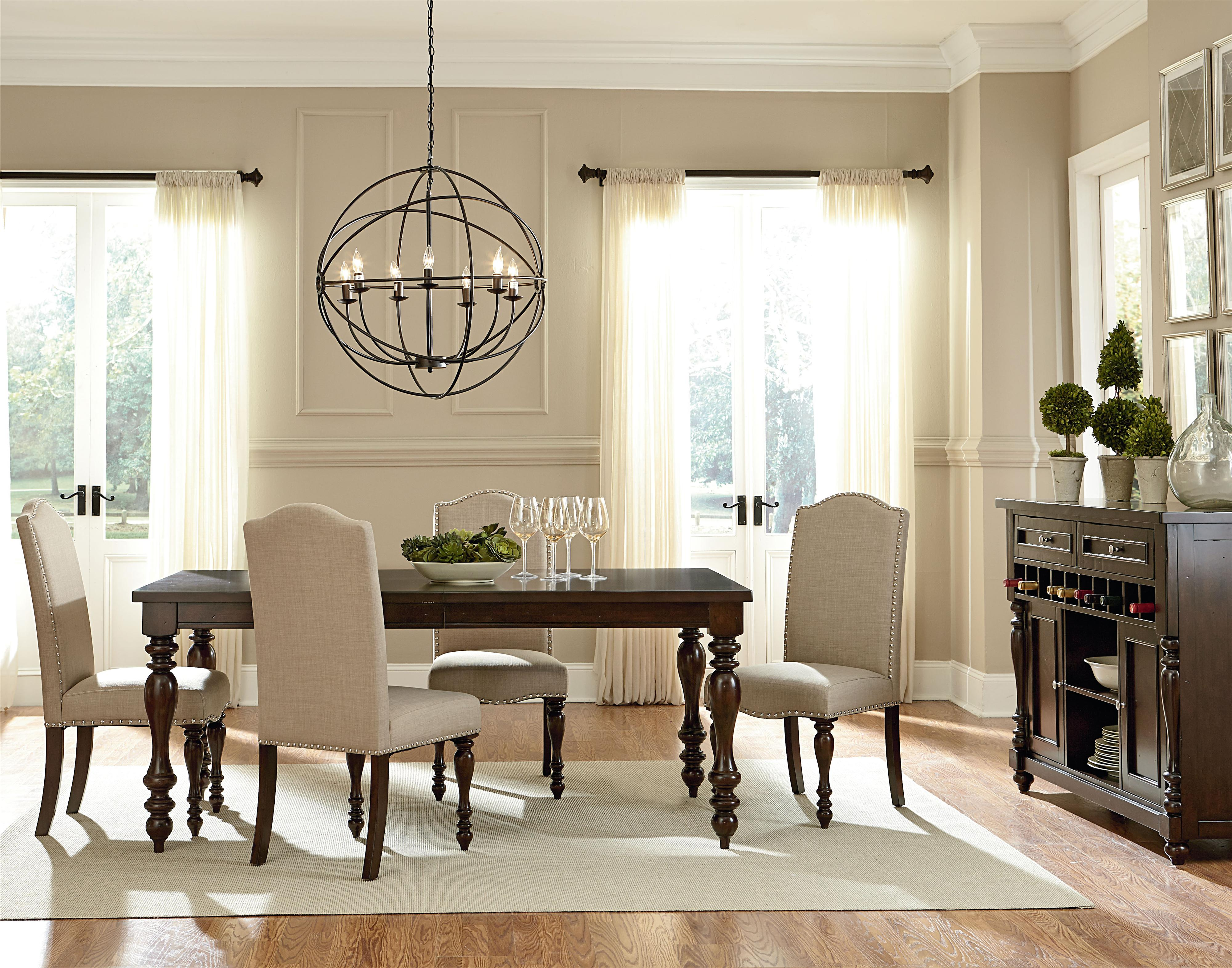 Standard Furniture McGregor Dining Room Group - Item Number: 17720 Dining Room Group