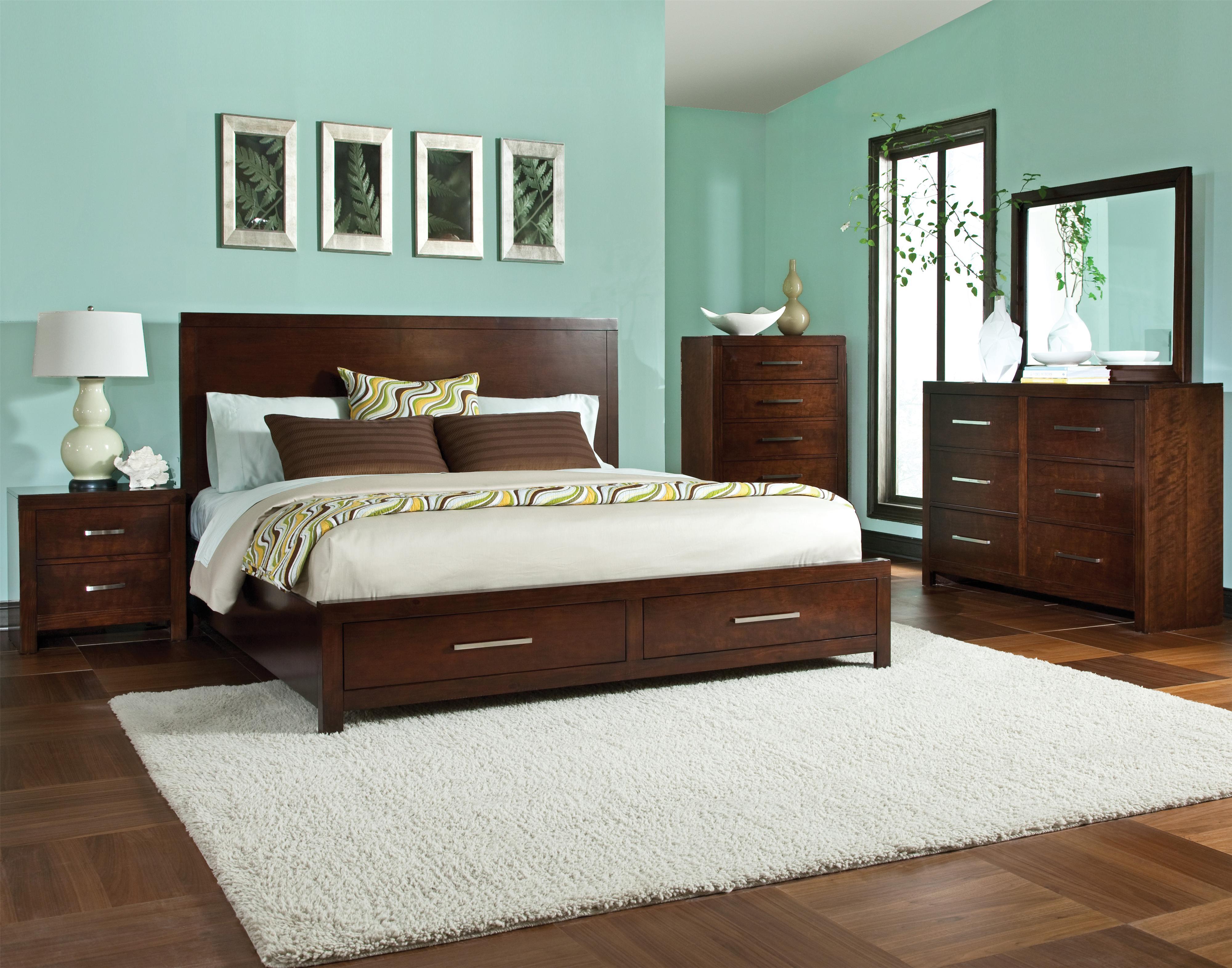 Standard Furniture Metro Queen Bedroom Group - Item Number: 87950 F Q Bedroom Group 1