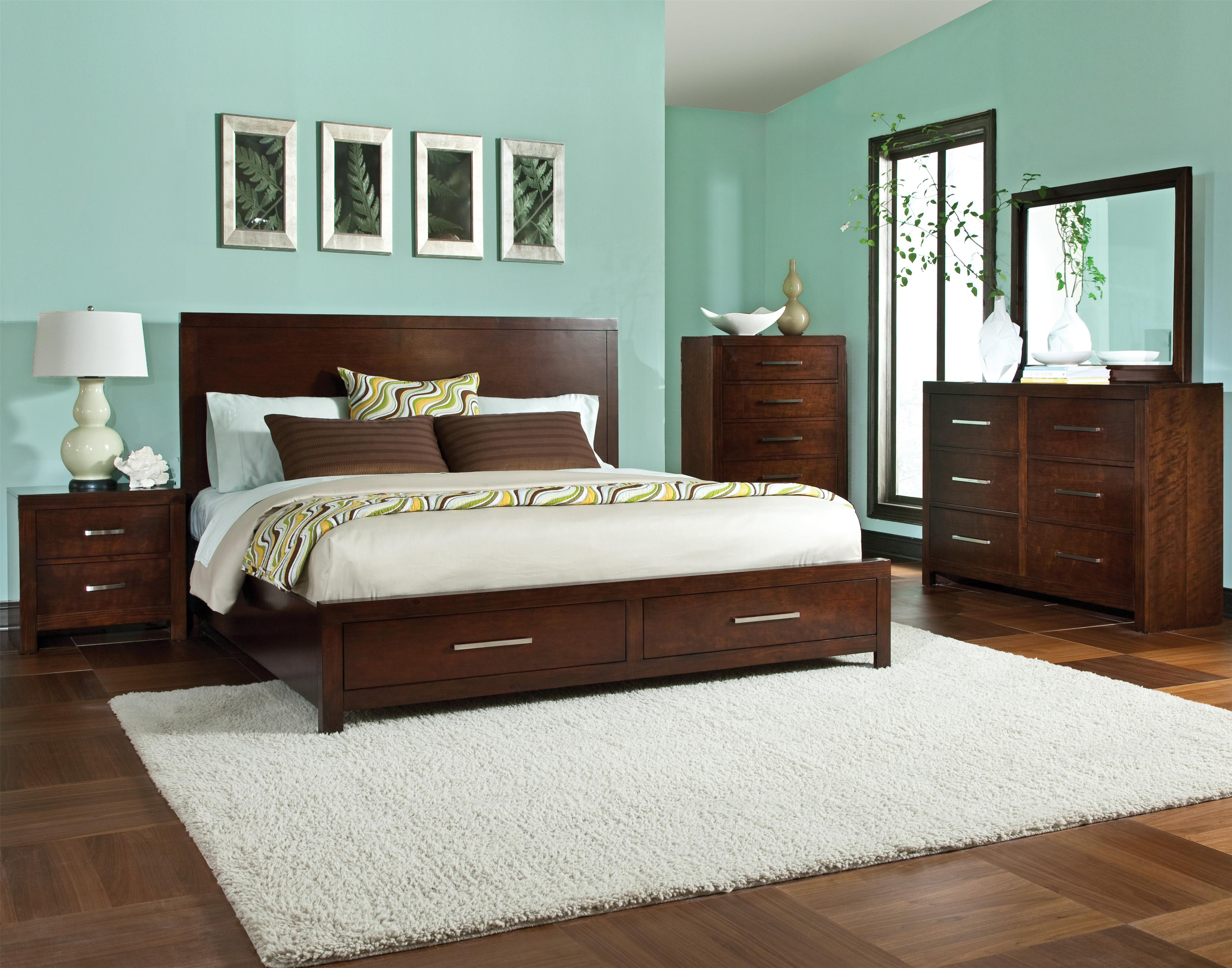 Standard Furniture Metro King Bedroom Group - Item Number: 87950 K Bedroom Group 1