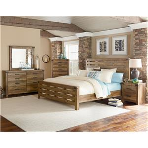 Standard Furniture Montana Six Drawer Dresser + Mirror Set