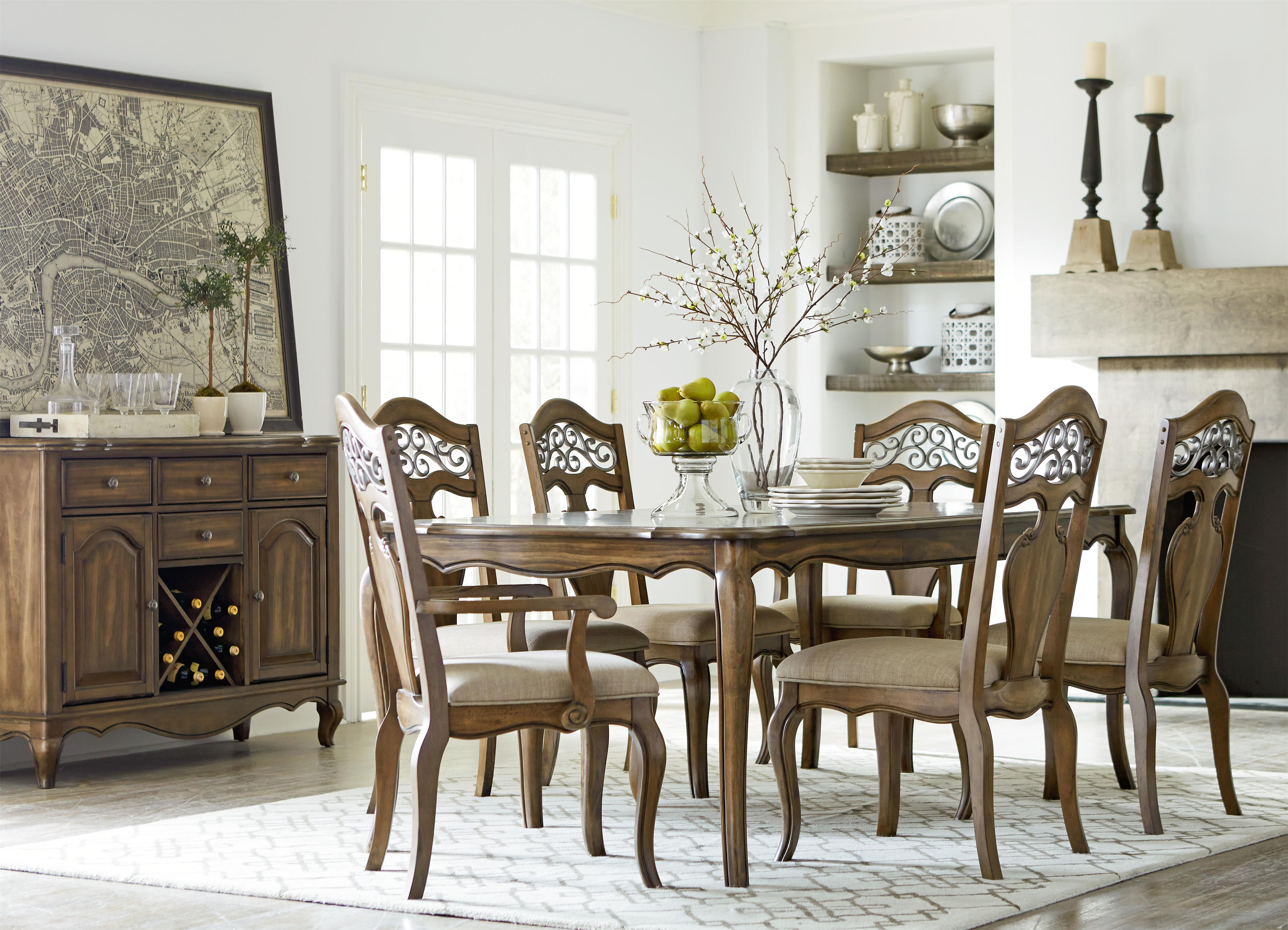 Standard Furniture Monterey Formal Dining Room Group - Item Number: 1436 Dining Room Group 1