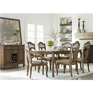 Standard Furniture Monterey Formal Dining Room Group
