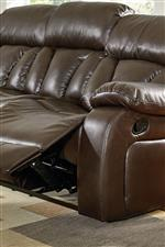 Reclining Seat, Operated with Manual Handle Mechanism