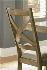 Standard Furniture Omaha Grey Counter Height 7 Piece